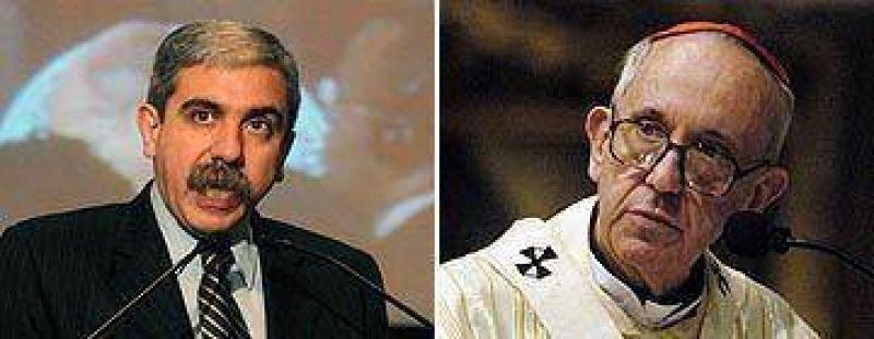 Duro con la Iglesia, Aníbal Fernández pidió que no intervenga en política