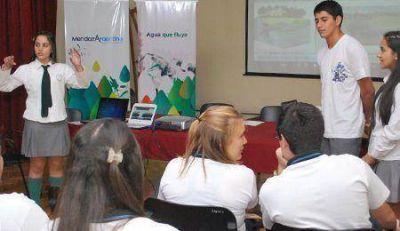 Estudiantes se comprometen con el cuidado del ambiente a través de Ciudadanía del Agua