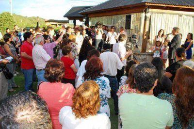 Se inauguró la empresa Lago Eventos S.H. en el marco del programa Nuevas Empresas