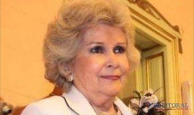"""Josefina Meabe: """"Todavía no leí el proyecto"""" de intervención al Poder Judicial de Corrientes"""