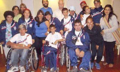 Pilar obtuvo 10 medallas en el primer d�a de los Juegos