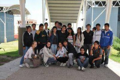 Jóvenes de Luján visitaron la ULP y conocieron su oferta académica