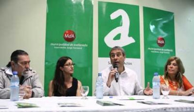 El Intendente Ferraresi present� la Semana de la Equidad e Igualdad por la No Violencia