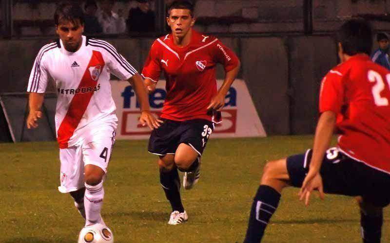 Independiente venció a River en un amistoso a beneficio.