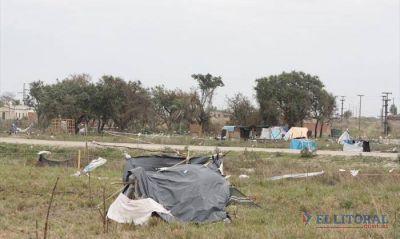 Okupas: Tierra y Hábitat propone que se unifiquen los asentamientos en el Pirayuí