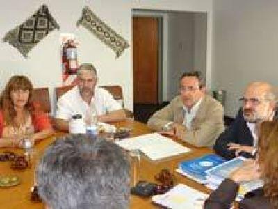 Mango y Diéguez se reunieron con legisladores de la Alianza por nueva Ley Orgánica de Educación