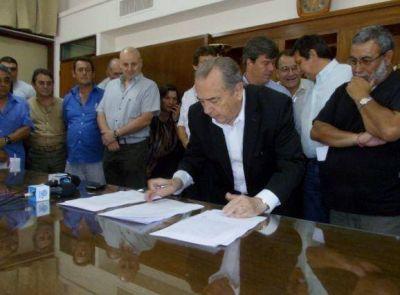 Paritarias: ingresó a Diputados el proyecto firmado por Jorge y los gremios