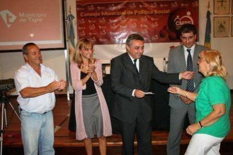 Organizaciones comunitarias de Tigre recibieron apoyo municipal