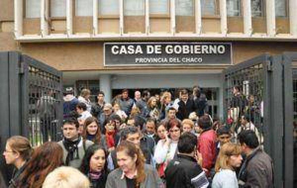 Protesta en Gobernación