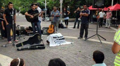 Artistas locales festejaron la ley de la Música con un recital