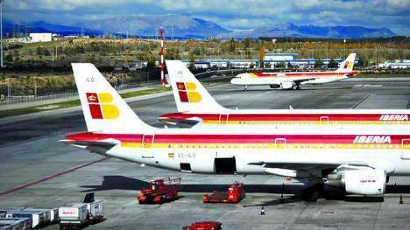 Empleados de Iberia har�n seis d�as de paro antes de Navidad