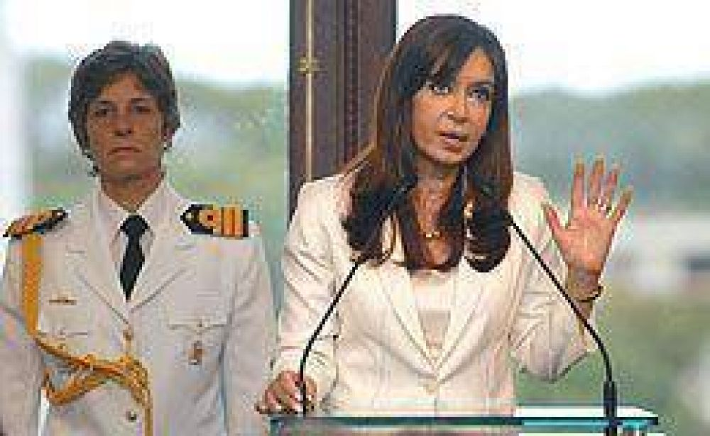 """Cristina más dura con el Campo: calificó a los paros de """"salvajes"""""""