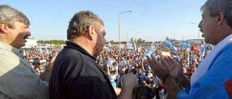 """Eduardo Buzzi: """"Dónde estaba Cristina cuando pedíamos por el regreso de la democracia"""""""