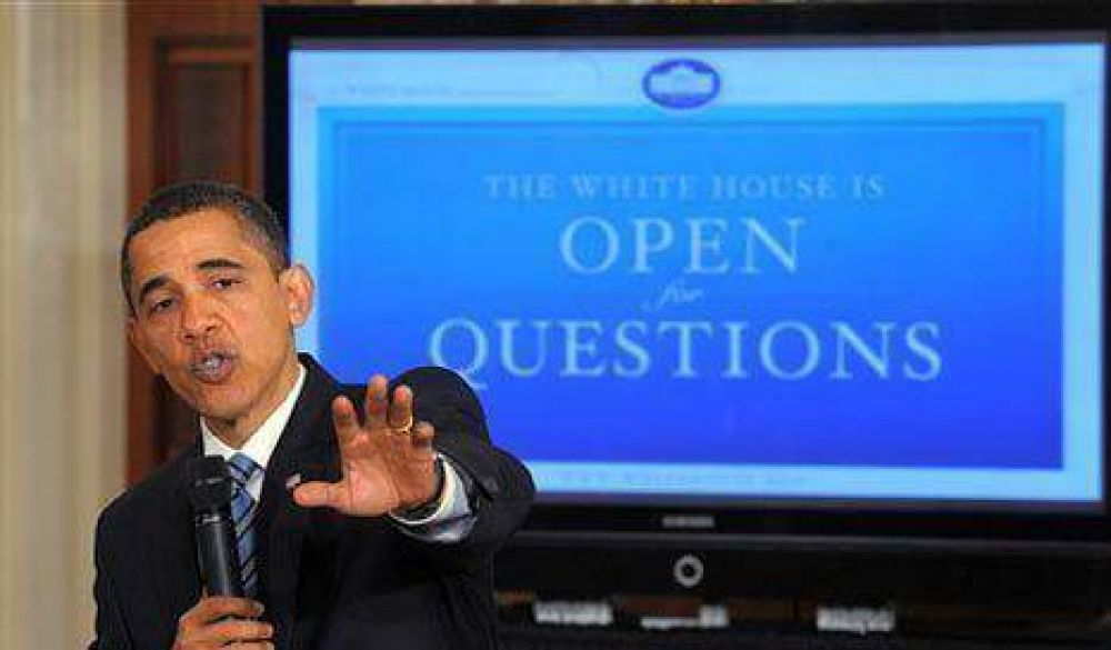 Obama usó internet para explicar el modelo