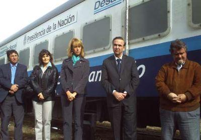 Tras 20.000 prestaciones en Línea Sur, el Tren sanitario llegó a Bariloche