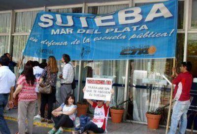 Faltazo de Nora de Lucía ante la protesta del Frente Gremial de Docentes Bonaerenses