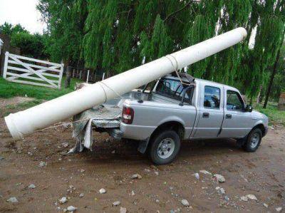San Luis Agua entubó ramal del Canal '0'