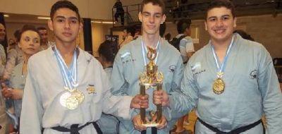 El Taekwondo de Echeverr�a tuvo una destacada presentaci�n en el Torneo Panamericano
