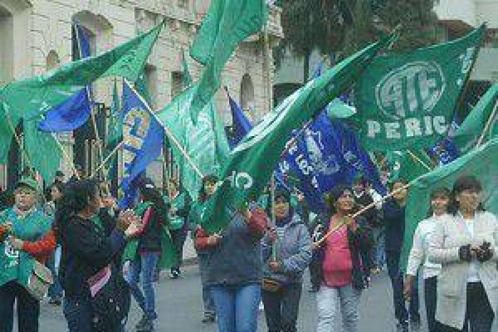 Paro, solución y repudio de ATE en Pampa Blanca
