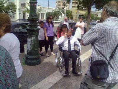 """Día de la Discapacidad: Larrañaga quiere una ciudad """"donde todos se sientan cómodos"""""""
