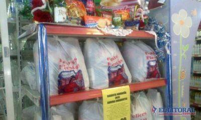 Los supermercados ofrecen la canasta navideña oficial y hay buena demanda