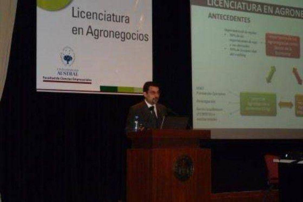La Universidad Austral presentó la Licenciatura en Agronegocios
