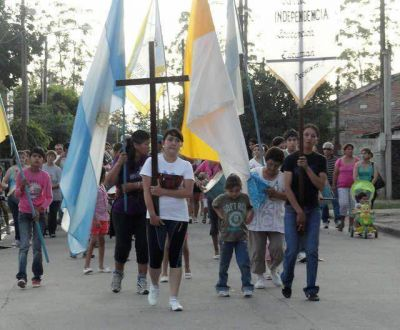 Parten cientos de peregrinos desde Concepción para honrar a la Virgen del Valle