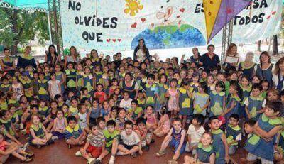 Alumnos de escuelas de Las Heras y Godoy Cruz se comprometieron con el cuidado del agua