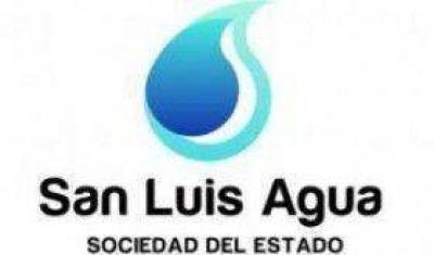 San Luis Agua libra intimaciones a los usuarios que registren deuda