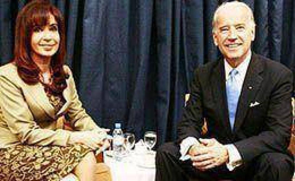 En Chile, Cristina tuvo su primer contacto directo con la gestión de Obama