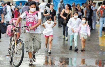 Una mañana de temor y evacuados en la Ciudad por una nube tóxica