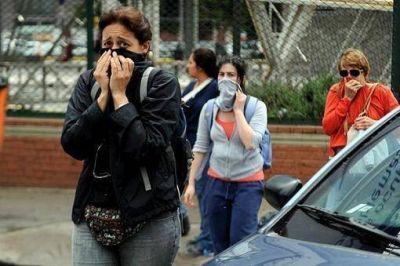 Alarma y evacuaciones por dispersión de un pesticida en un incendio