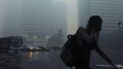 Accidente en el Puerto: Alarma y evacuados por una nube tóxica que llegó al Centro