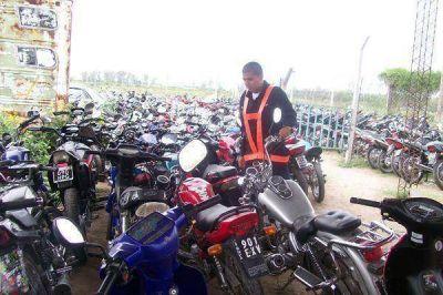 Secuestran 61 motos en diversos controles