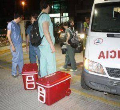 Dos santiagueños ya fueron trasplantados