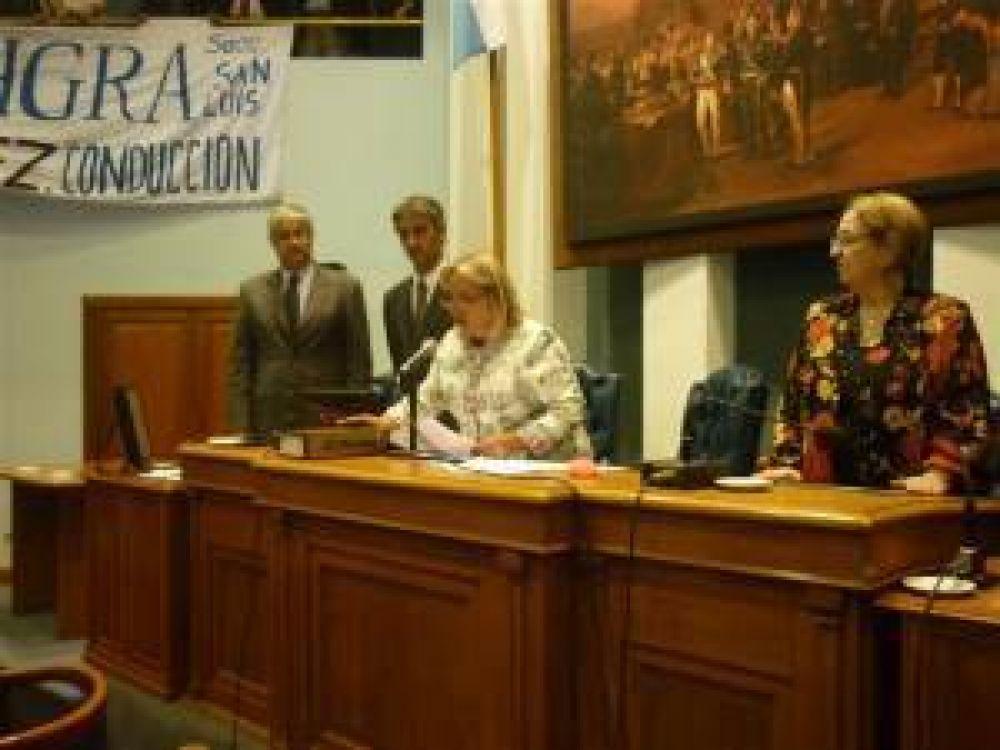 Mazzarino seguirá en la Presidencia de la Cámara de Diputados