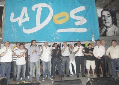 La DOS despidió el año con un acto de la primera sección en San Martín