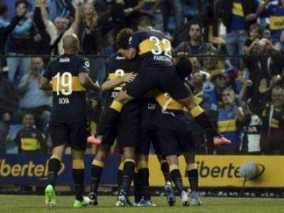 Boca venció al Godoy Cruz de Palermo en el día del retiro de Schiavi