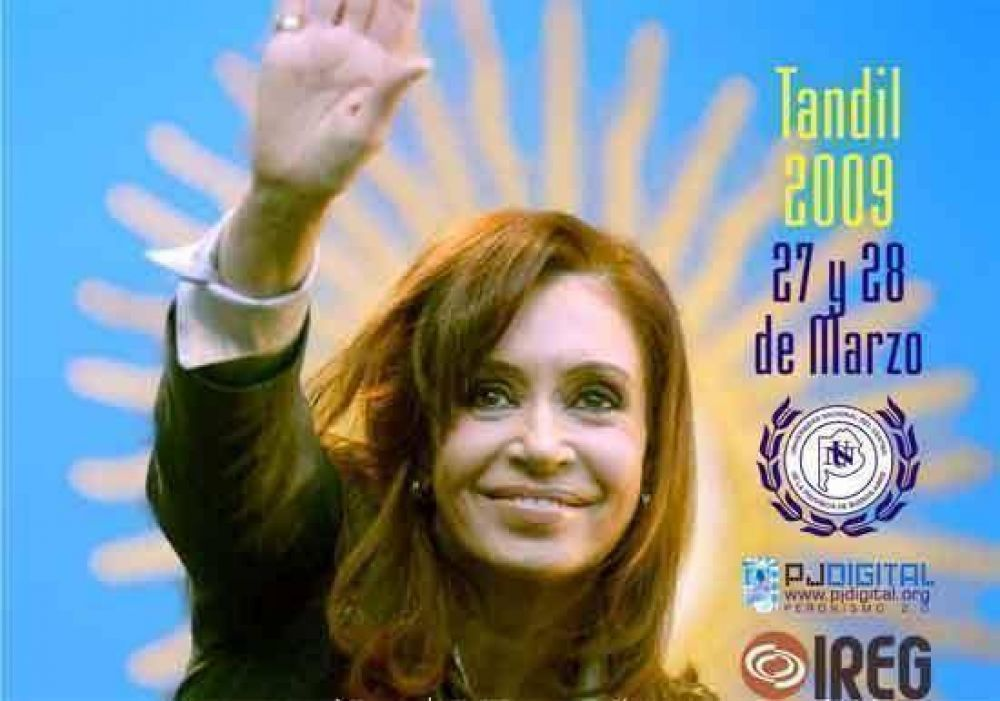 Fuerte apoyo a Cristina y respaldo a la candidatura de Néstor Kirchner