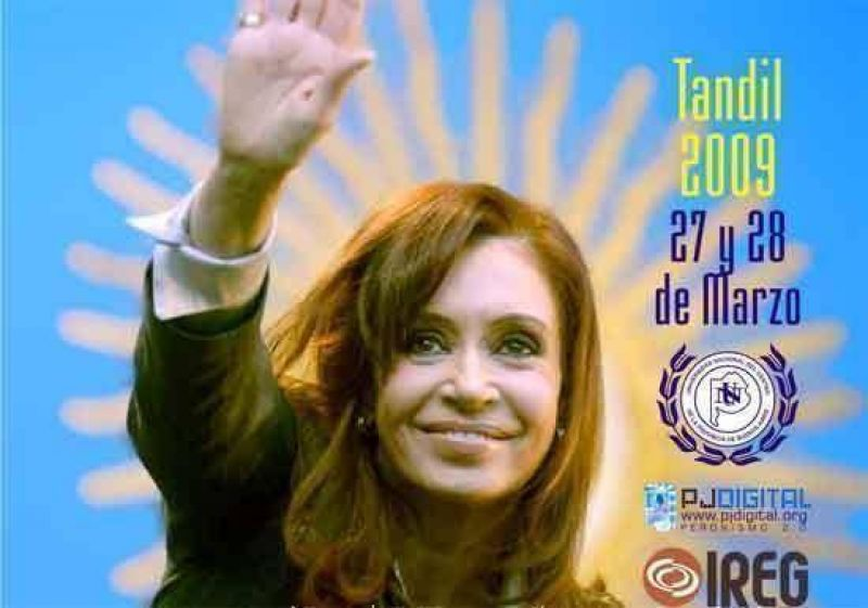 Fuerte apoyo a Cristina y respaldo a la candidatura de N�stor Kirchner