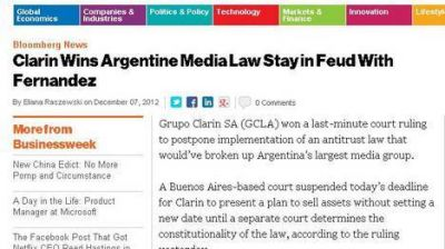 En el exterior hablan de un intento de amordazar a los medios argentinos