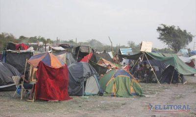 Quilmes: okupas pidieron reunirse con los dueños del predio o bien comenzarán a construir sus casas