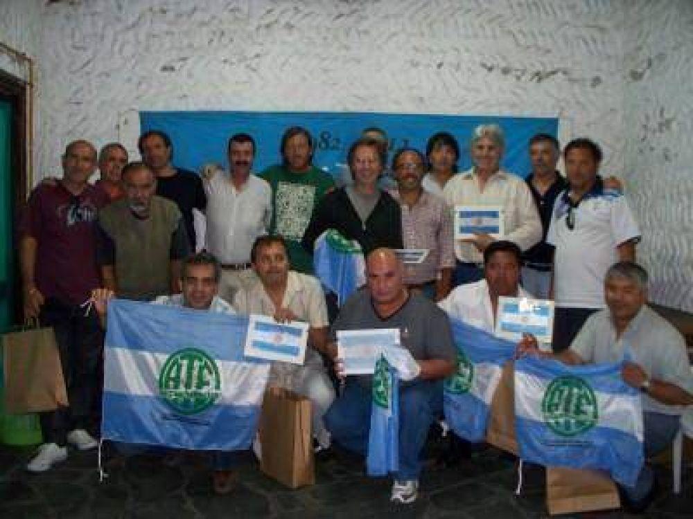 ATE - Reconocimiento a nuestros Héroes de Malvinas