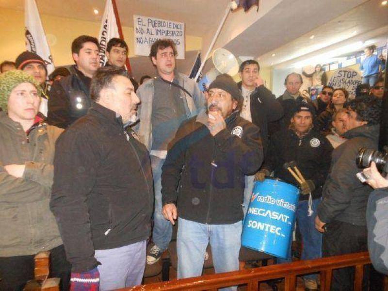 Metal�rgicos se vuelven a movilizar contra la Tarifaria