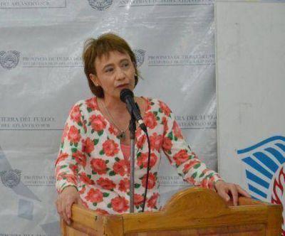 Fabiana Ríos participó de los festejos