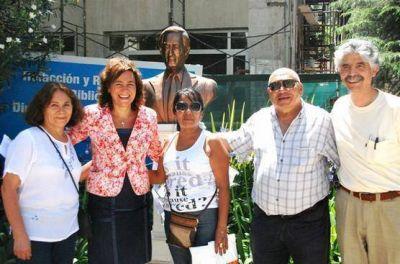 Campos Bilbao participó de homenaje a las víctimas de la lucha por los derechos campesinos