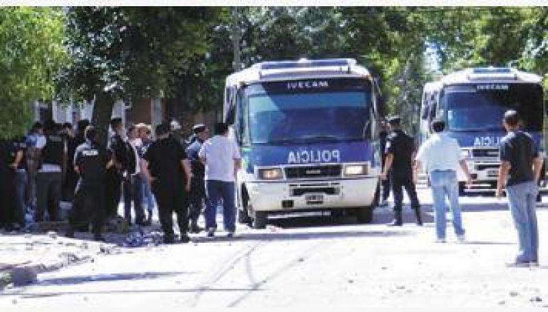 Otro violento cruce de la Uocra de Zárate terminó con tres heridos de bala