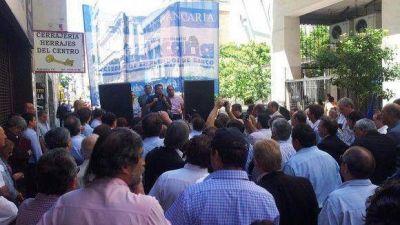 La Asociación Bancaria volvió a trasladar su protesta a la Capital Federal