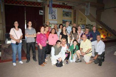 Residentes de Madariaga en Mar del Plata Visitaron el Museo Tuyu Mapu