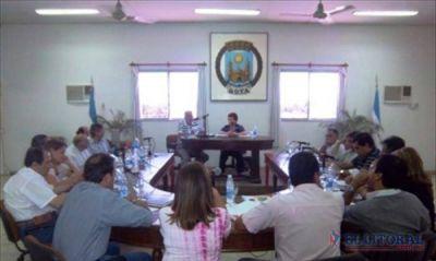 En primera lectura, concejales aprobaron el Presupuesto 2013